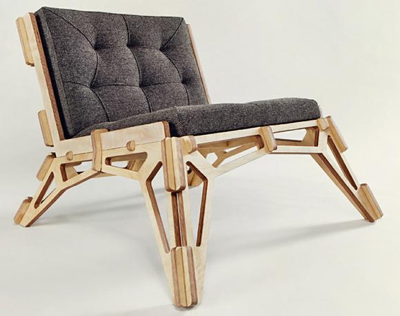 Cool Cnc Lounge Chair Design Make