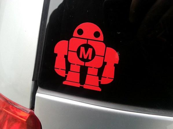 Back window sticker
