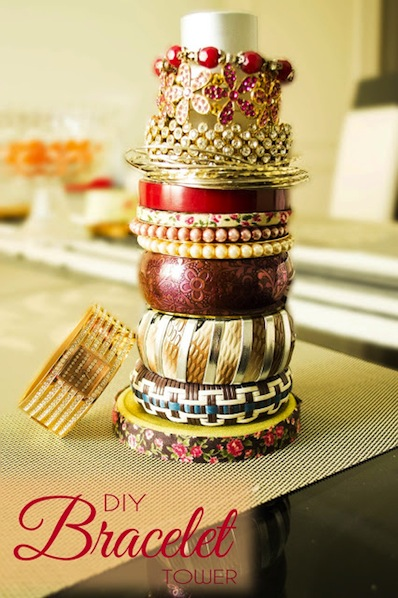 craftadoodledoo_DIY_bracelet_tower