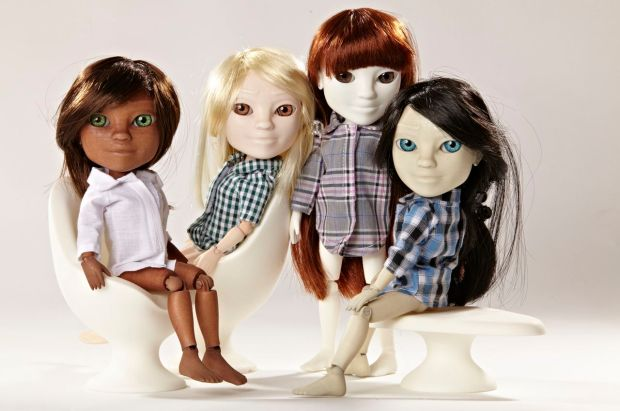 Makies in their new skin colours