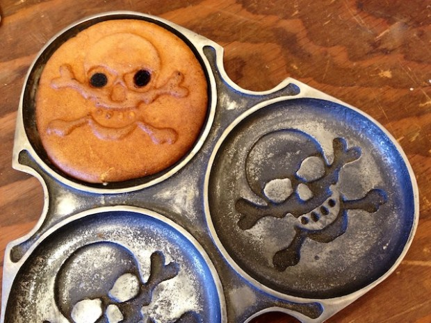 Pancakes with personality and the option of chocolate chip eyes.