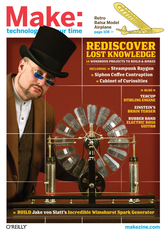 Make: Volume 17 Cover Image