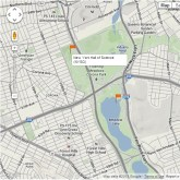 Habitat Map lets users add markers to both concerns and benefits in their environment.