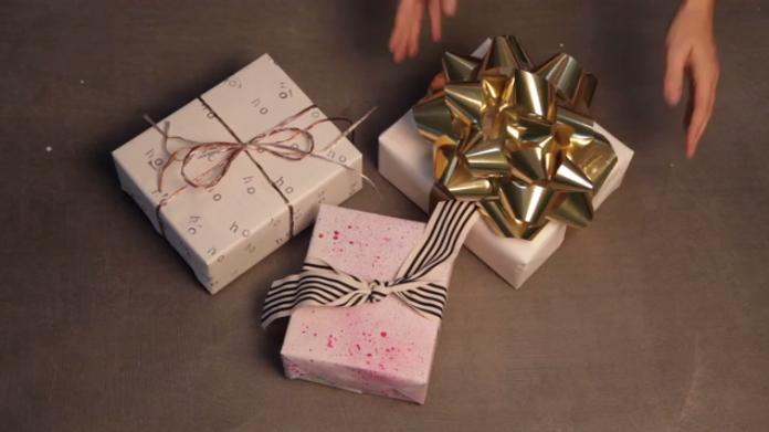 3 ways to gift wrap