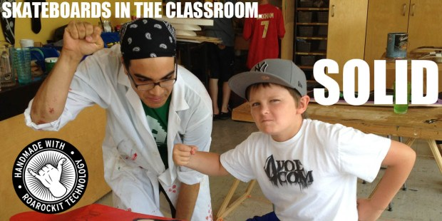 Skateboards in the Classroom