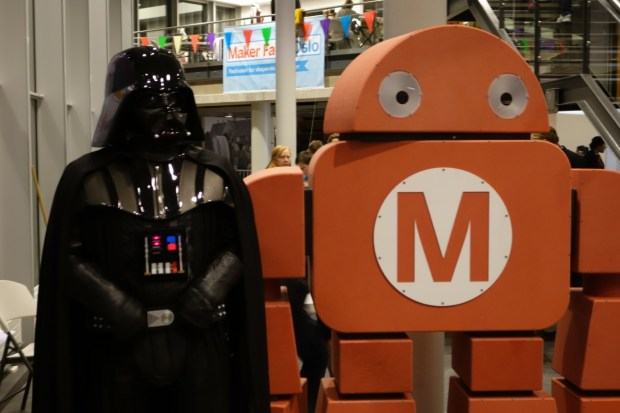 Darth Vader and Makey