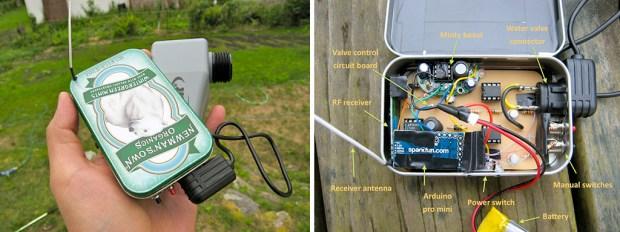 Mint-tin Water Valve Controller