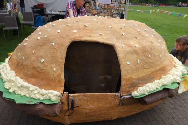 Mobile Hamburger Cart