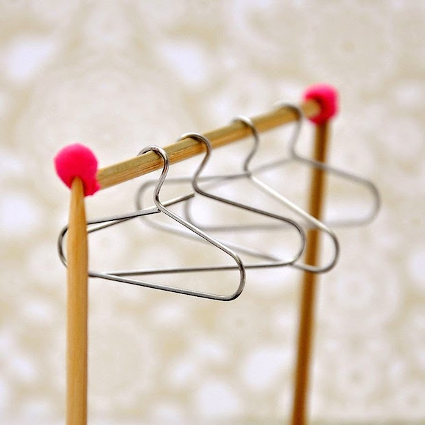 Diy Crafts With Mini Clothes Hangers