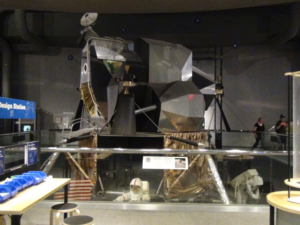 Real Lunar Module (LM) at the Museum of Life and Science in Durham NC