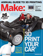 For more on 3D printing, check out Make: Volume 42.  Don't have this issue? Get it in the Maker Shed.