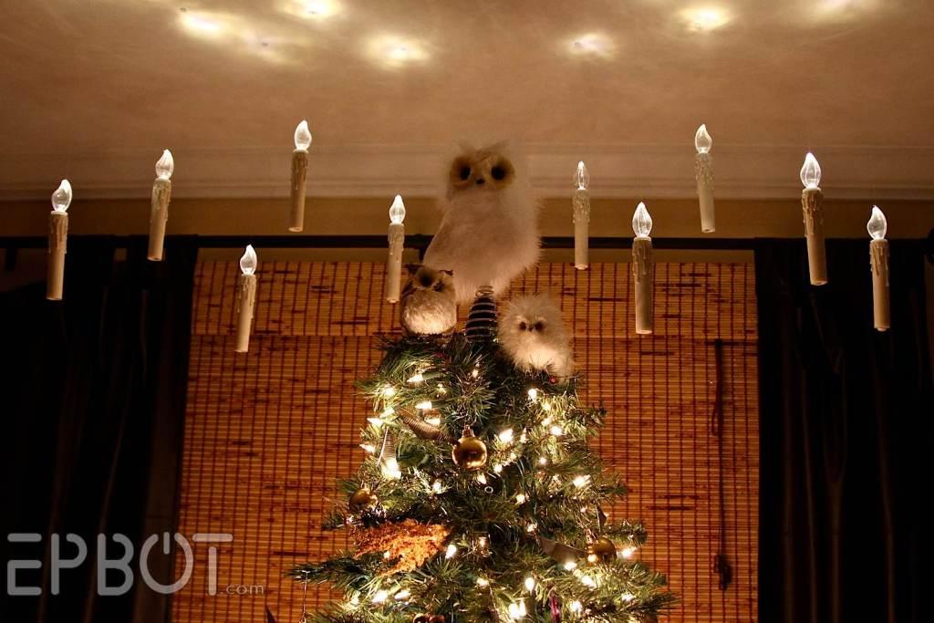 Diy Harry Potter Floating Candles Christmas Tree Make