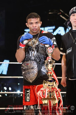 Dream featherweight champion Bibiano Fernandes