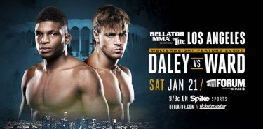 Bellator 170 Daley vs Ward Fight Poster
