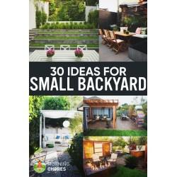 Small Crop Of Nice Small Backyards