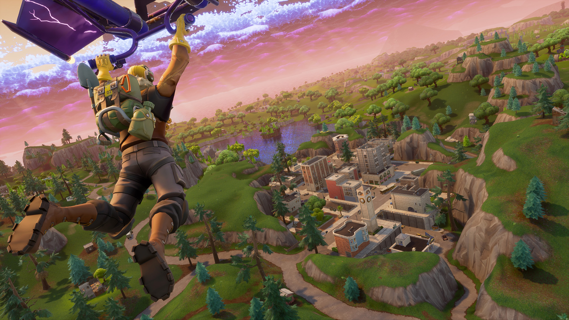 Fortnite is getting a new Battle Royale game mode tomorrow featuring     Fortnite is getting a new Battle Royale game mode tomorrow featuring five  teams of 20 players  Updated    PC Gamer