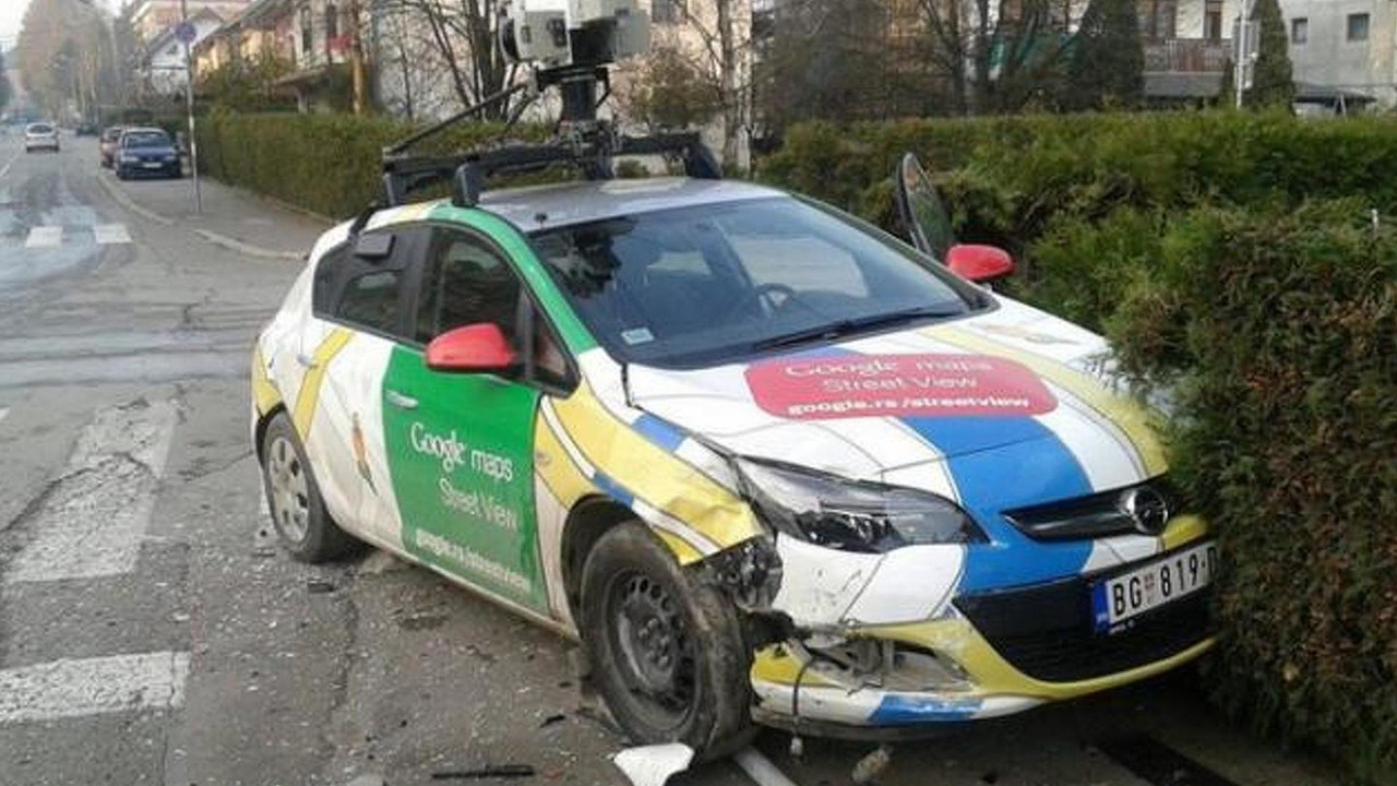 Google Maps Street View car crashes in Serbia   Motor1 com Photos Google Maps Street View car crash