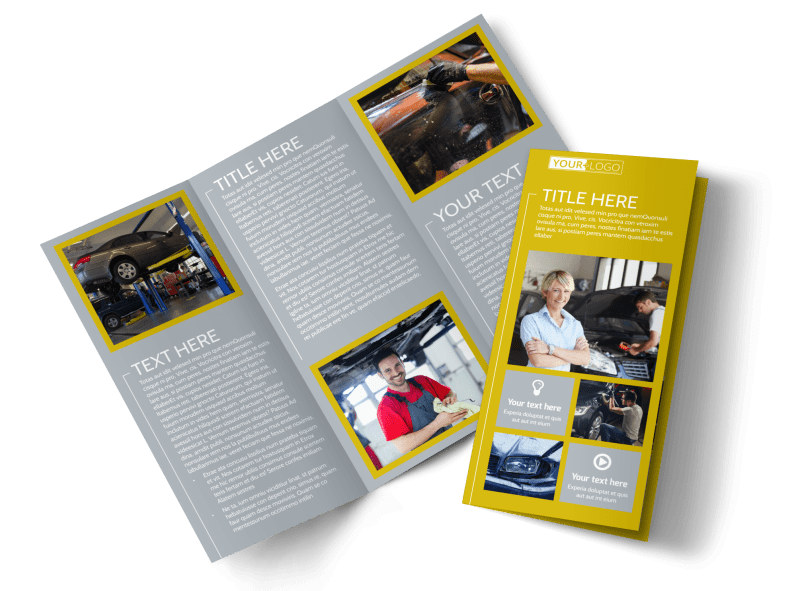 Auto Body   Repair Brochure Template   MyCreativeShop Auto Body   Repair Brochure Template