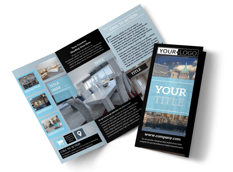 Urban Real Estate Brochure Template   MyCreativeShop Urban Real Estate Brochure Template