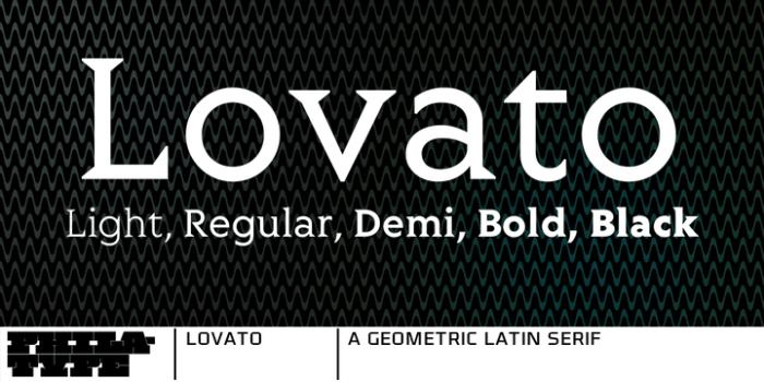 Lovato Font Download