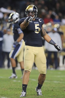At Soldier Field in 2012, Notre Dame wore these Shamrock Series uniforms.