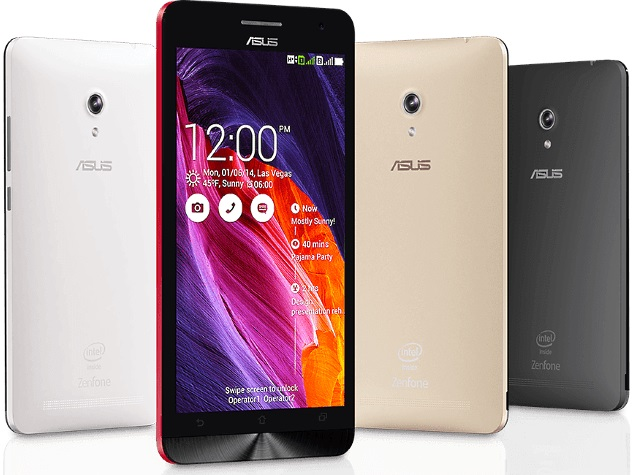 asus zenfone 4 5 6 start receiving android 0 lollipop update