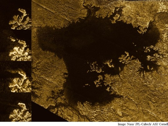 Flooded Canyons Found on Saturn's Moon Titan: Nasa