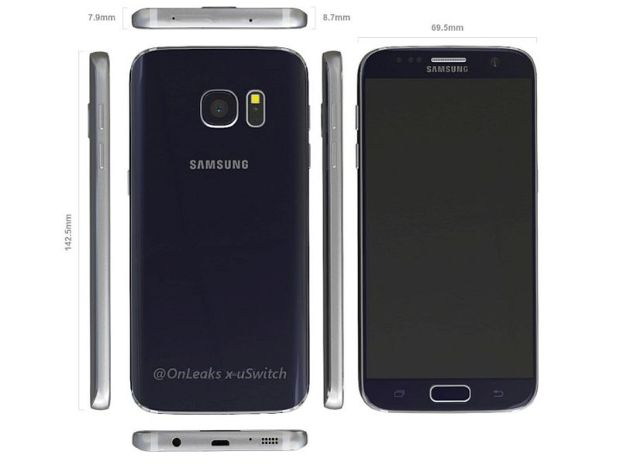 Samsung Galaxy S7 Cases Again Tip Design of Upcoming Flagship