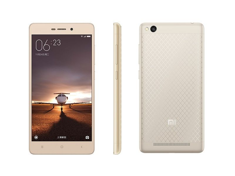 xiaomi redmi 3 with 4100mah battery 5 inch display launched