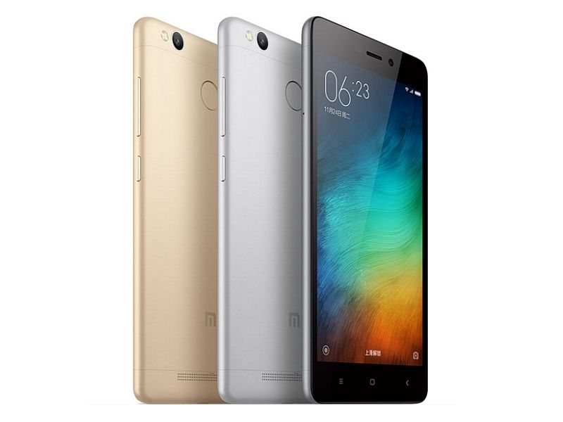 xiaomi redmi 3 pro with 3gb of ram fingerprint sensor launched