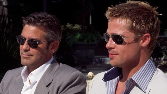 Hollywood  Brad Pitt  George Clooney  QLD real estate  If George     Bromance  George Clooney and Brad Pitt were both declared sexiest man alive  in difference years