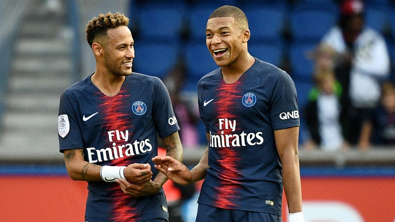 Neymar Kylian Mbappe Real Madrid transfer  La Liga transfer news     Paris Saint Germain s Neymar and Kylian Mbappe could be on their way to  Madrid in