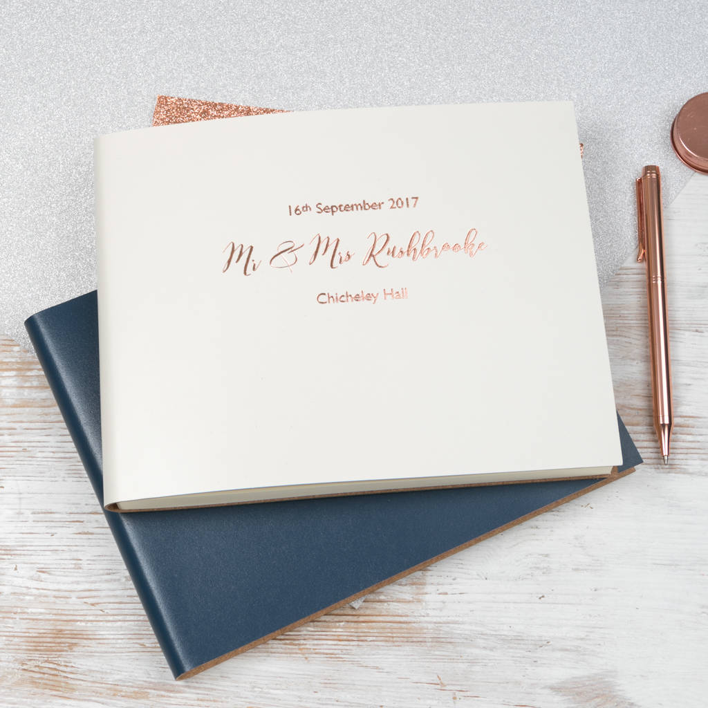 Fullsize Of Wedding Guest Book