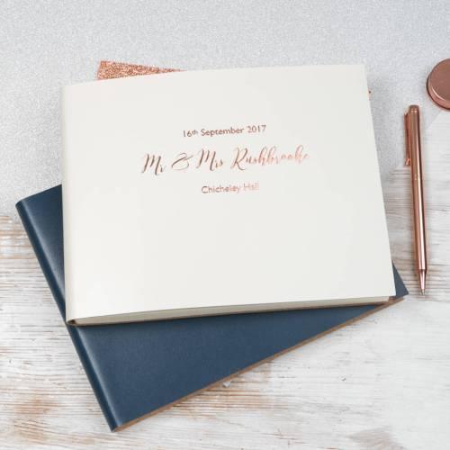 Medium Crop Of Wedding Guest Book