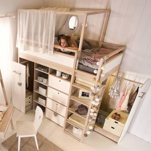 Medium Of Kids Beds With Storage