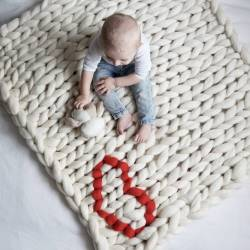 Small Crop Of Knitted Baby Blanket