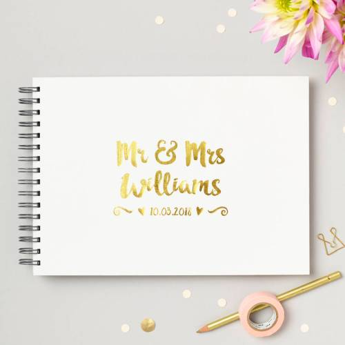 Medium Crop Of Wedding Guest Book