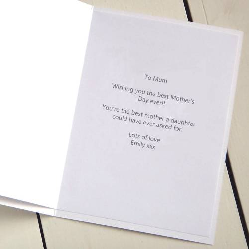 Medium Of Mothers Day Cards Messages