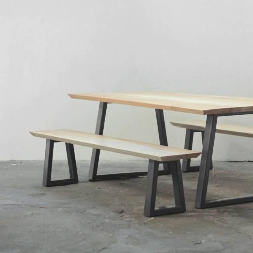 Medium Of Bench Dining Table