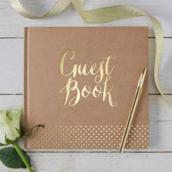 Small Crop Of Wedding Guest Book
