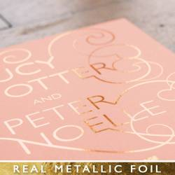 Small Of Rose Gold Foil