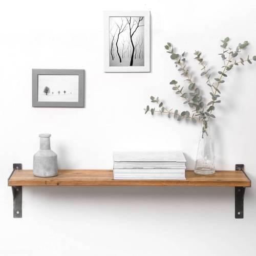 Medium Crop Of Reclaimed Wood Shelves