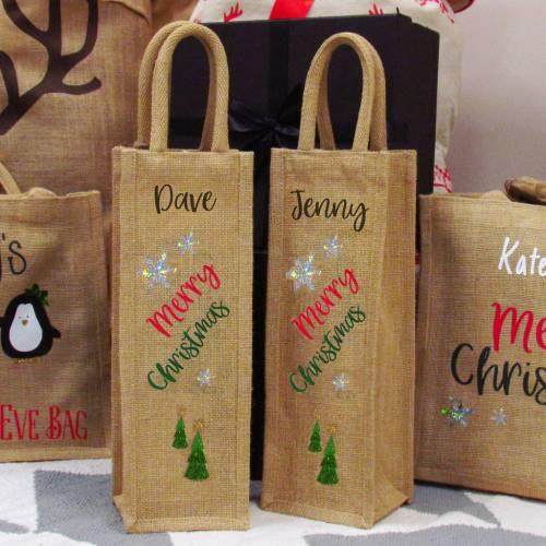 Medium Of Wine Gift Bags