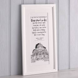 Showy Her Wedding Venues Mr Mrs Vows Bepoke Print From Letterfest Personalised Illustrated Poem Or Vows Print By Letterfest Vows Her Renewal Vows inspiration Vows For Her
