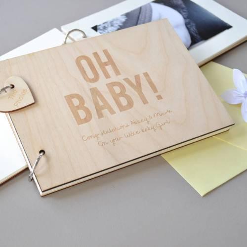 Medium Of Baby Shower Guest Book