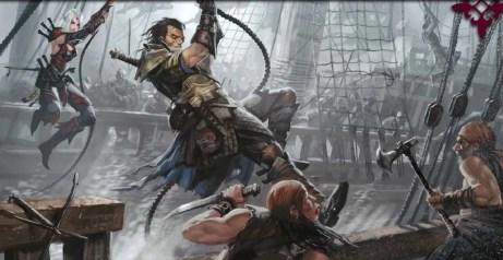 Pirates fight