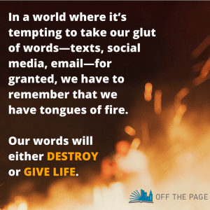 Tongues of Fire | Off the Page