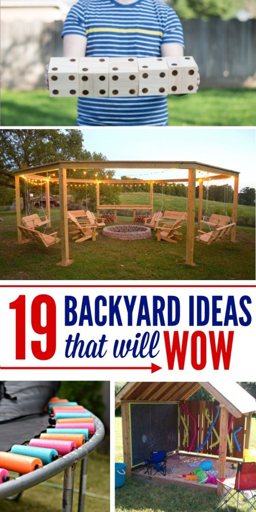 Medium Of Cool Diy Backyard Ideas