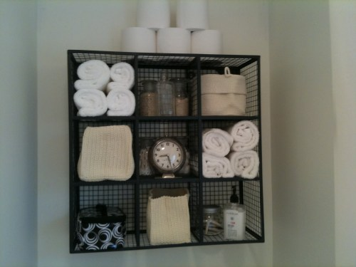 Medium Of Over The Toilet Storage
