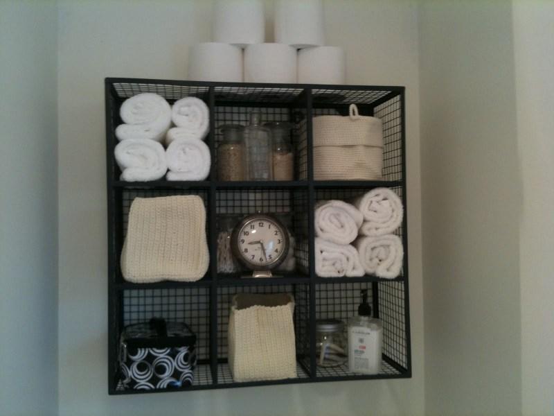 Large Of Bathroom Shelf Wall